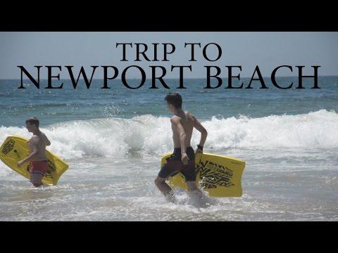 Trip to Newport Beach California