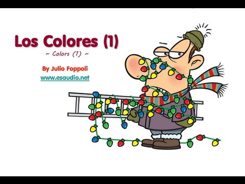 Basic Spanish Vocabulary Series: Colors