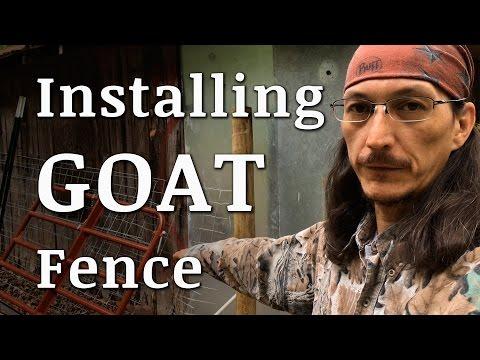 Installing Goat Fencing