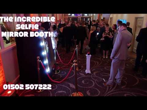 Selfie Mirror booth Premiere Events Uk