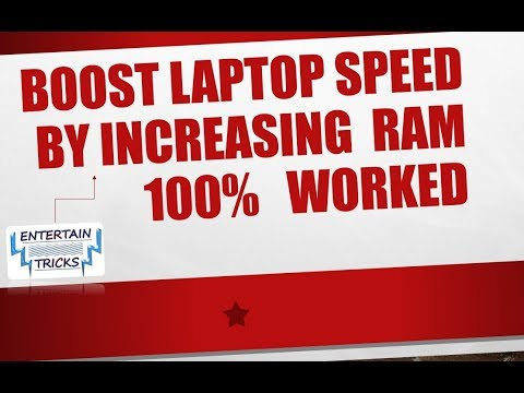 How to Increase up Ram Speed of Laptop for Windows 10