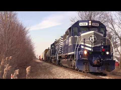Riding the Lake State Railway through Birch Run