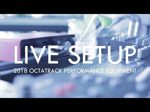 My 2018 Live Octatrack Performance Setup