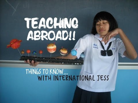 Teaching Abroad! Qualifications & Overcoming Barriers