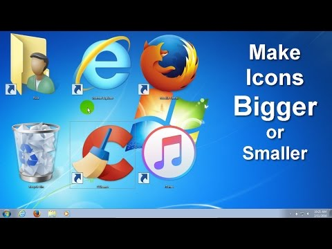 How to change Windows desktop icons SIZE- Change icons on Windows - Quick Tips