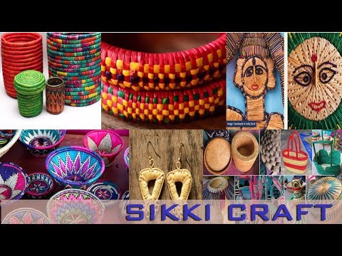 Sikki grass craft Bihar (India) | complete process explained