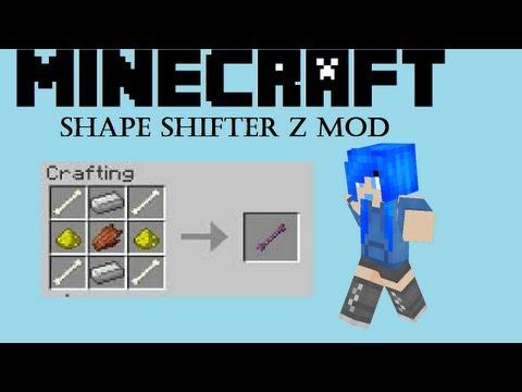 Minecraft Mod: Shape Shifter Z