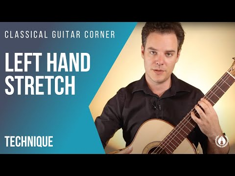 Left Hand Stretch - Classical Guitar Exercise