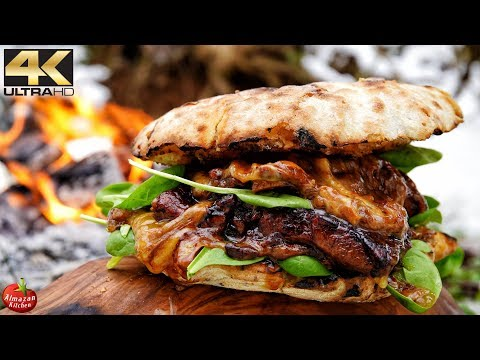MOST UNUSUAL STEAK BURGER YOU WILL EVER SEE!