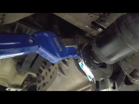 Mini clubman prop shaft removal without special tool