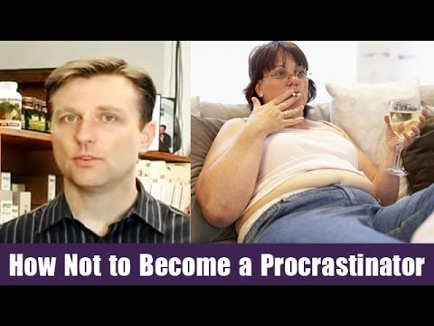 How Not to Become a Procrastinator