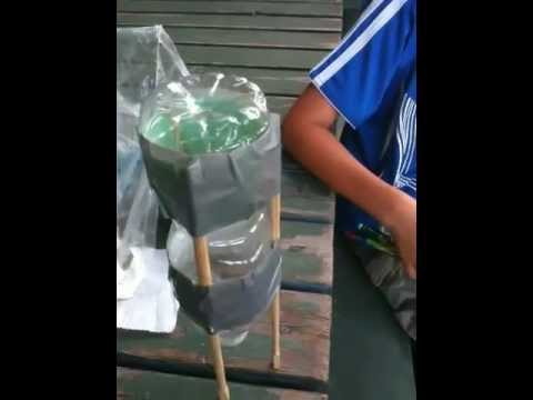 How to make a baking soda & vinegar powered rocket ship