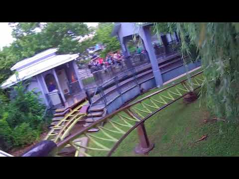 Six Flags New England's Catwoman's Whip on ride POV