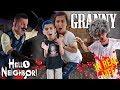Hello Granny Granny And Hello Neighbor Horror Game In Real Life FUNHouse Family