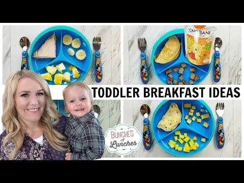 TODDLER BREAKFAST IDEAS + What He Ate || Bunches of Breakfasts