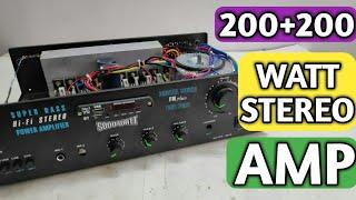 DIY Audio Amplifier Board STK 4141 II ( Hindi Electronics