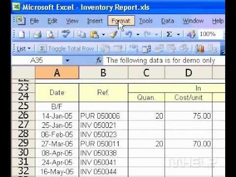 Microsoft Office Excel 2003 Show multiple lines of text in a cell