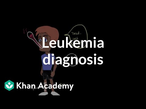Leukemia diagnosis | Hematologic System Diseases | NCLEX-RN | Khan Academy