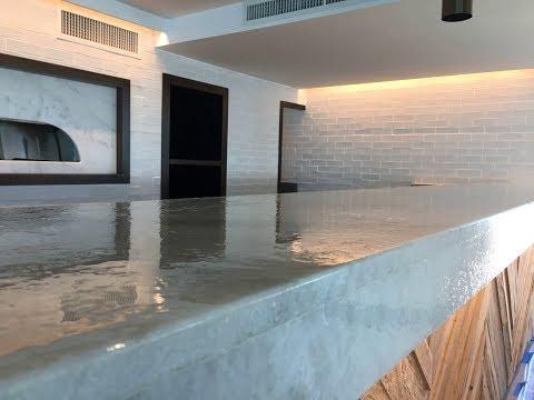 Sealing Keystone Pavers - Commercial Bar Top