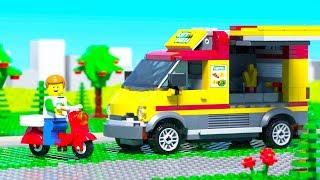LEGO Pizza Delivery Fail