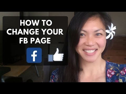 HOW TO CHANGE YOUR FACEBOOK BUSINESS PAGE TYPE OR NAME