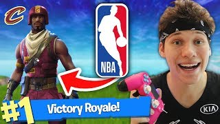 Fortnite Duo With Nba Basketball Player!! (victory Royale)