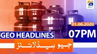 Geo Headlines 07 PM | 1st June 2020