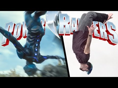 Stunts From Power Rangers In Real Life (Parkour | Tricking)