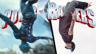 Stunts From Power Rangers In Real Life (Parkour   Tricking)