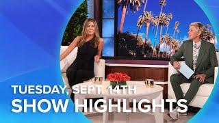 Jennifer Aniston, Inspiring Educator, & More! | Highlights From Tuesday, September 14th