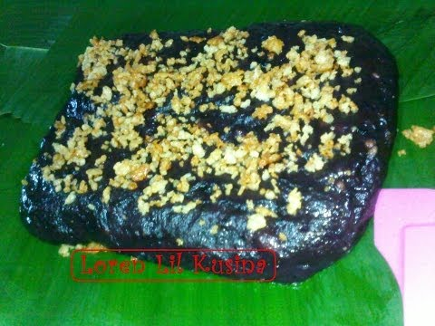 Kalamay Ube / Filipino dessert ( Kakanin )