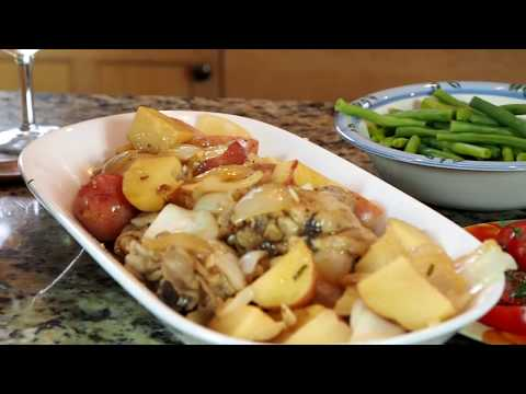 Instant Pot Rosemary Chicken & Potatoes
