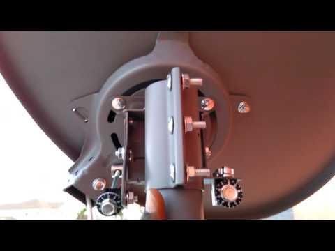 DirecTV New slimline dish fine tunning signal