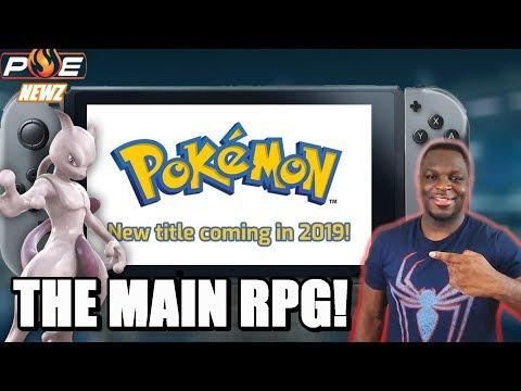 Mainline Pokemon RPG Coming in
