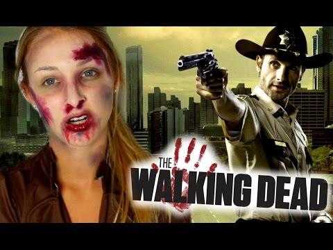 THE WALKING DEAD | Zombie Halloween Makeup Tutorial!