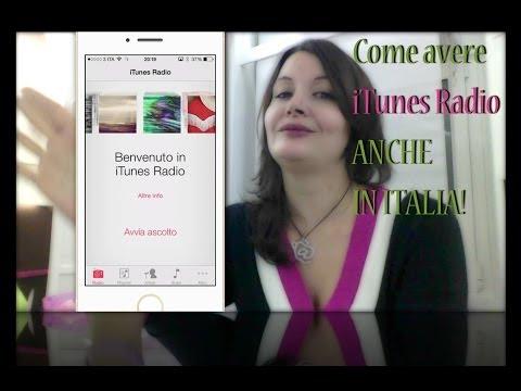 Come avere iTunes Radio anche in italia (su iPhone, iPad e Mac)