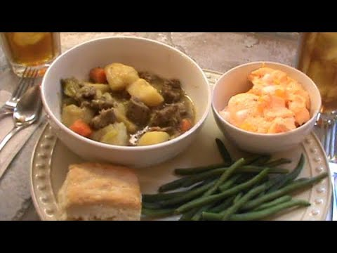 Quick Instant Pot Beef Stew, Serves 4