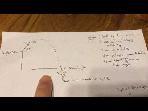 Physics: projectile motion - Hang Time - Max Height - Range -