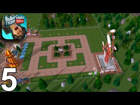 RollerCoaster Tycoon Touch - Levels 17,18,19 - Gameplay Walkthrough Part 5 (iOS Android)