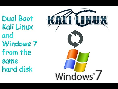 Install Kali Linux Alongside Windows 7 | Dual Boot Kali Linux and Windows 7 [Step By Step Guide]