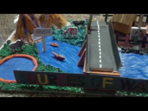 sources of water school model project