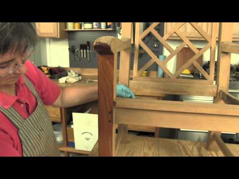 How To:  Refinishing Outdoor Furniture Teak Chair