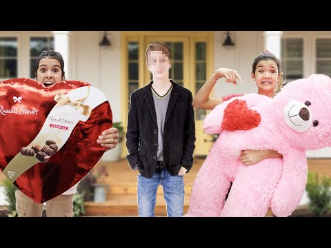 Delivering VALENTINES to CRUSH! We drove hours to deliver RYKEL'S Valentine!