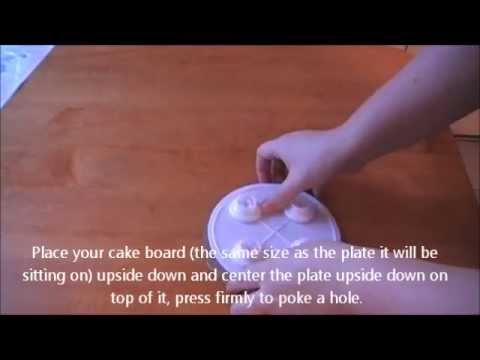 How to Stack a Cake Using the SPS Sysptem