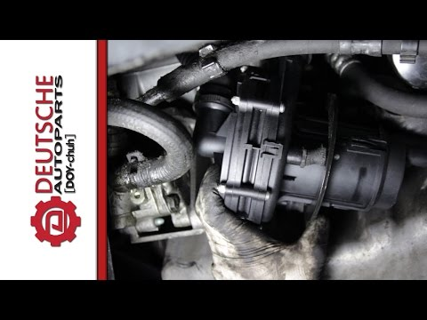 VW 1.8T Secondary Air Injection Pump Replacement for Fault Code P0411