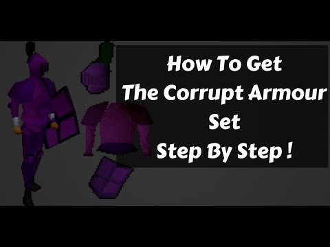 OSRS - How To Get The Corrupt Armor Set