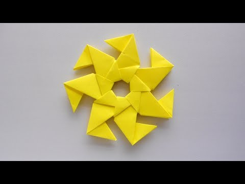 Modular Origami Star Tutorial ⭐️ How to make simple & easy paper star