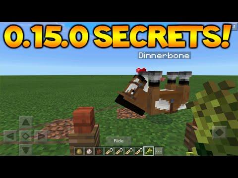 0.15.0 NAMETAG SECRETS!! Minecraft Pocket Edition 0.15.0 Secret Nametag Features (Minecraft PE)