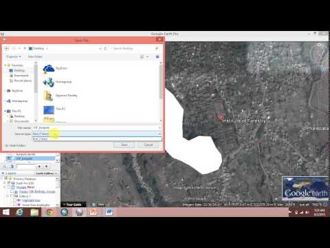Make shape file in ARC Map 10.2.1 using Google Earth Pro