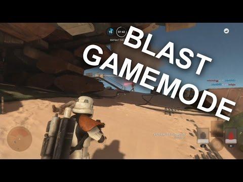 Star Wars Battlefront BLAST Mode (PS4 Gameplay)